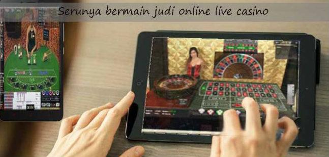 keseruan bermain judi live casino pada agen resmi Sbobet